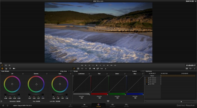 DaVinci Resolve 9 Enhanced Viewer
