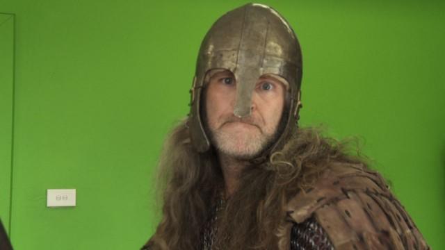 Viking on Greenscreen