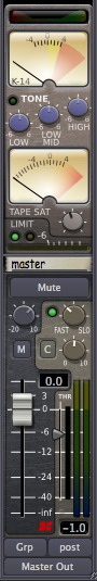 Mixbus Master Channel