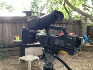 The NEX EA50 with Metabones & Canon 50mm